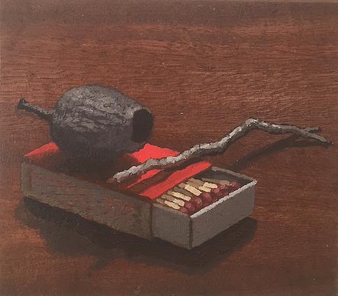 Peter Hill Artist Northcliffe gumnut matchbox