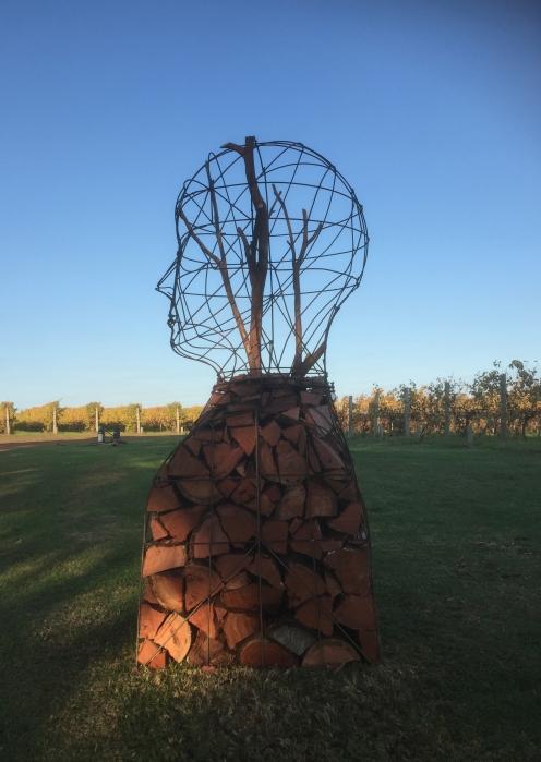 woodsman, a head stack